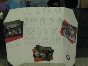 Kids' Press display