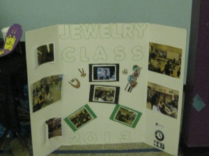 Jewelry class display